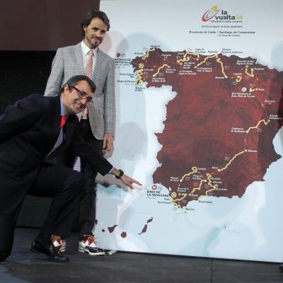 11ENERO2014 Presentación en Cádiz de la Vuelta a España 2014. Foto:  Uniplublic.