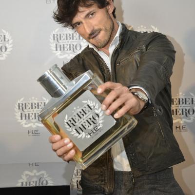 """20SEPTIEMBRE2013 Andrés Velencoso imagen del nuevo perfume """"Rebel Hero"""", de Mango. Foto: Puig."""