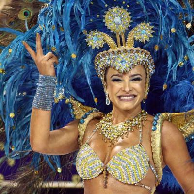 Unidos de Vila Maria Samba School at Carnaval 2011 in São Paulo. Foto: Caio Pimenta/SPTuris