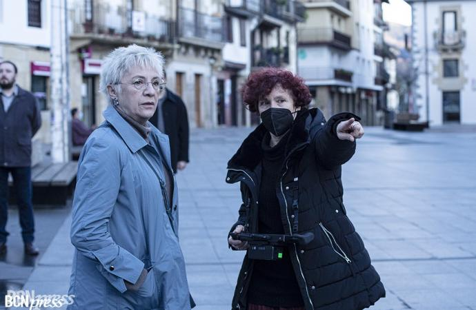 Rodaje de la nueva película 'Maixabel' de Icíar Bollaín