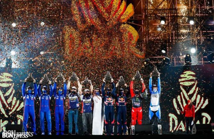 Dakar 2021, consagración de Benavides y triunfo deseado de Peterhansel
