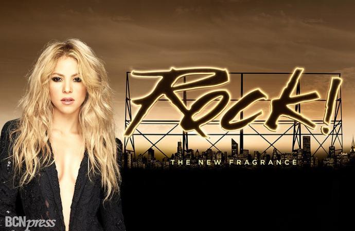 Rock! by Shakira, su fragancia más rockera