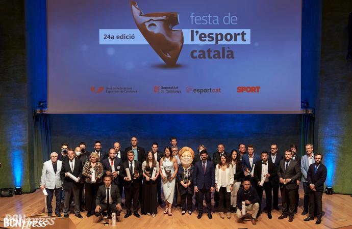 Se celebra la 24 Festa de l'Esport Català