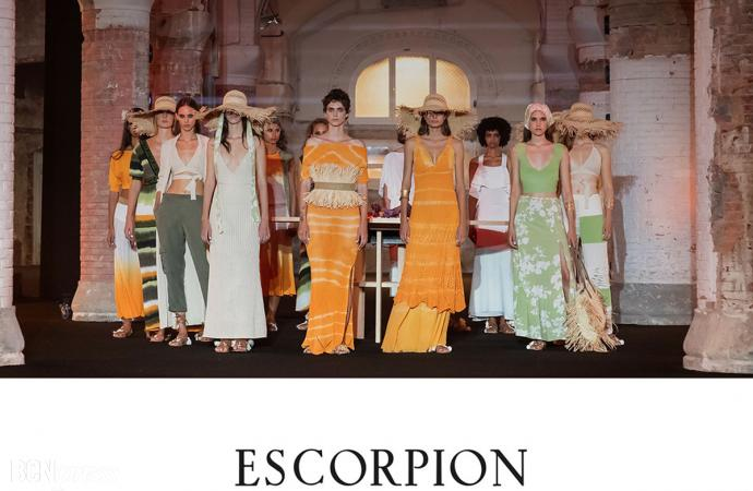 Escorpion inauguró la segunda jornada de la 080 Barcelona Fashion