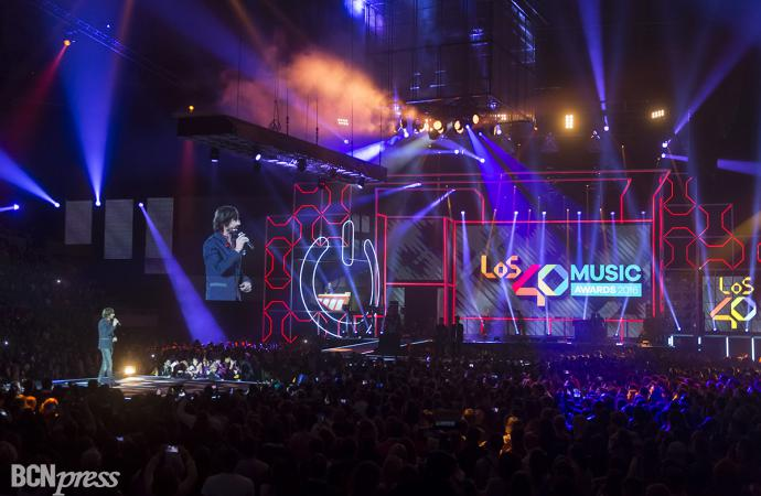 Por primera vez se celebraron LOS40 Music Awards en Barcelona