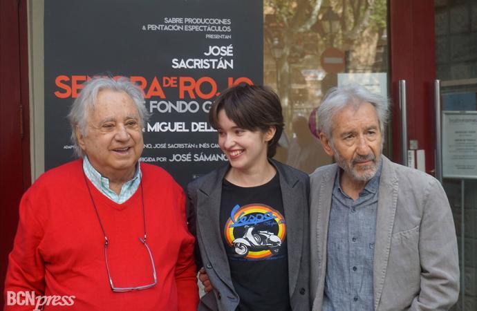 José Sacristán interpreta 'Señora de rojo sobre fondo gris'