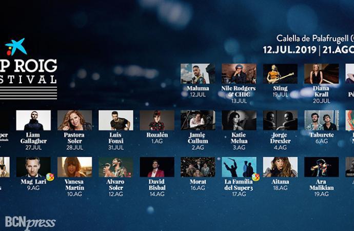 Cap Roig Festival ha presentado su cartel