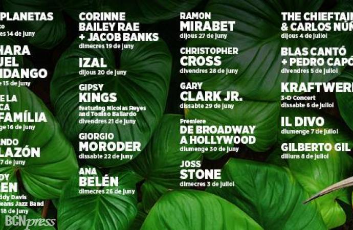 7ª Edición del Festival Jardins Pedralbes