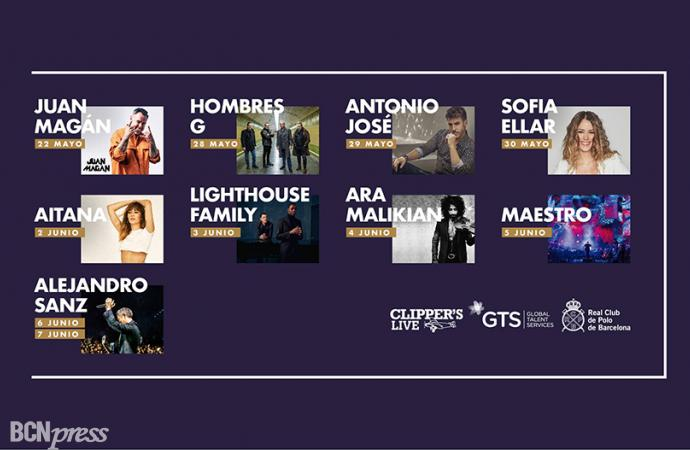 Alejandro Sanz estrella del CaixaBank Polo Music Festival