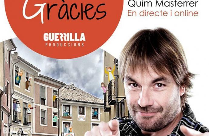 """Quim Masferrer presenta 'Moltes Gràcies', un espectáculo de calle """"irrepetible y lleno de verdades"""""""