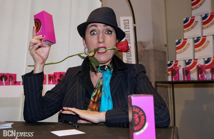 Rossy de Palma perfumó la 080 Barcelona Fashion