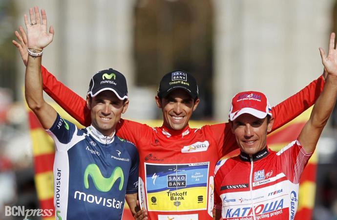 67ª Vuelta  Ciclista a España: Contador volvió y lo hizo ganando, como los grandes campeones