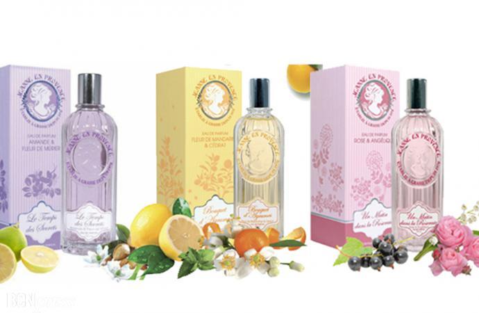 Las esencias de las flores de Jeanne en Provence