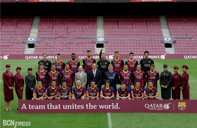 Qatar Airways y FC Barcelona firman un acuerdo de patrocinio