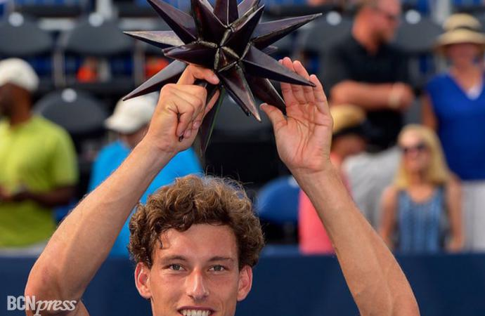 Pablo Carreño gana su primer torneo ATP en Winston-Salem