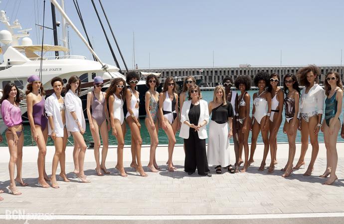 Desfile Guillermina Baeza en la 080 Barcelona Fashion