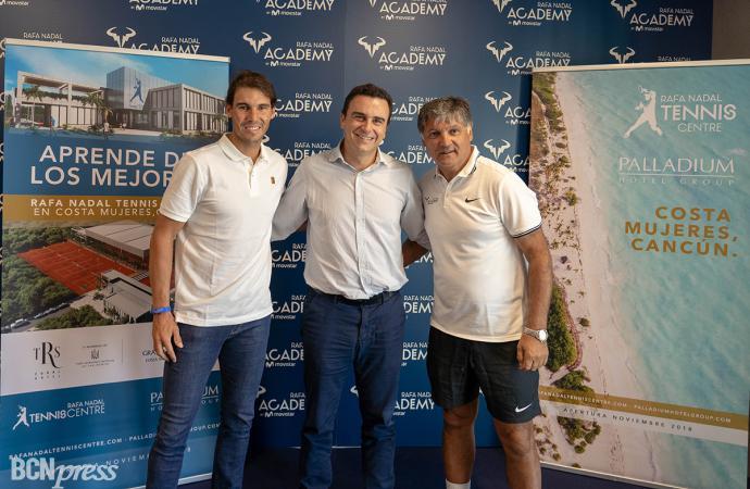 Se inaugura el primer Rafa Nadal Tennis Centre del Mundo