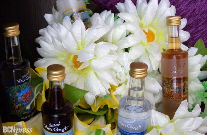 Con una cata se presentó el vodka Van Gogh en España