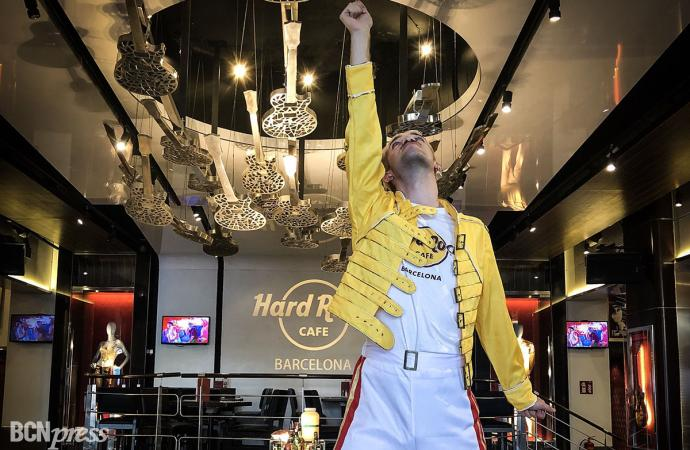 Hard Rock Café Barcelona homenajea a Freddie Mercury celebrando 'Freddie for a Week'