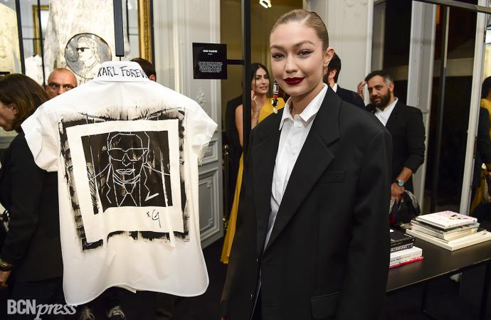 "La Maison Karl Lagerfeld celebra ""A Tribute to Karl Lagerfeld: The White Shirt Project"""