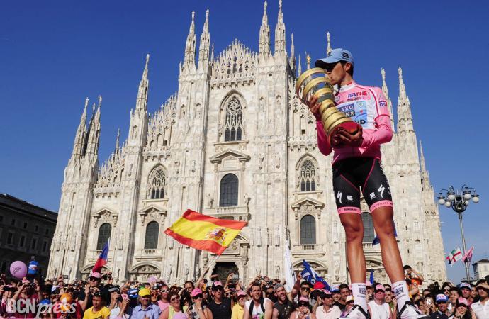 Alberto Contador consiguió su segundo Giro de Italia