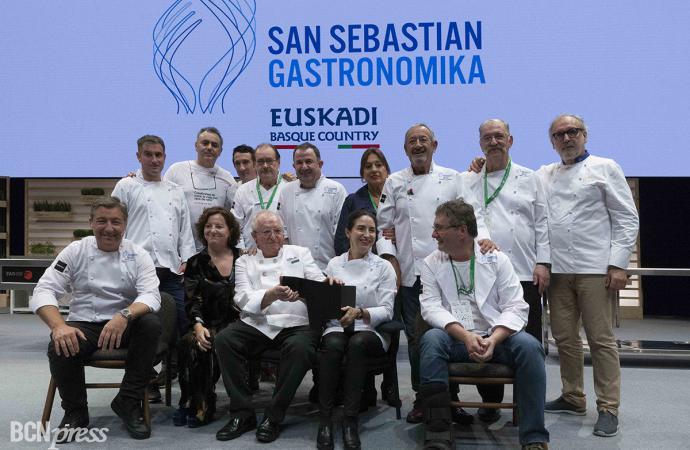 Se inició San Sebastian Gastronomika-Euskadi Basque Country con un homenaje a Juan Mari Arzak