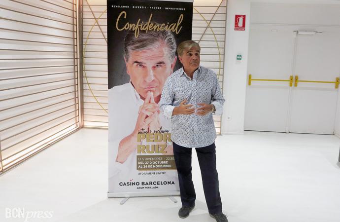 Pedro Ruiz actúa en el Casino Barcelona