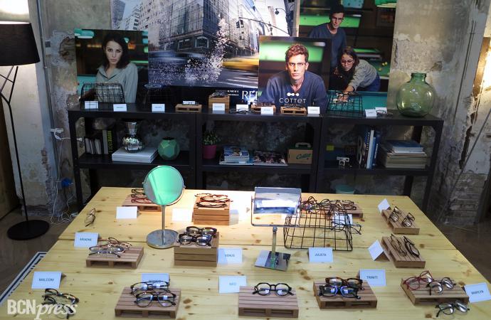 Cottet Barcelona lanza su nueva línea de monturas para gafas graduadas