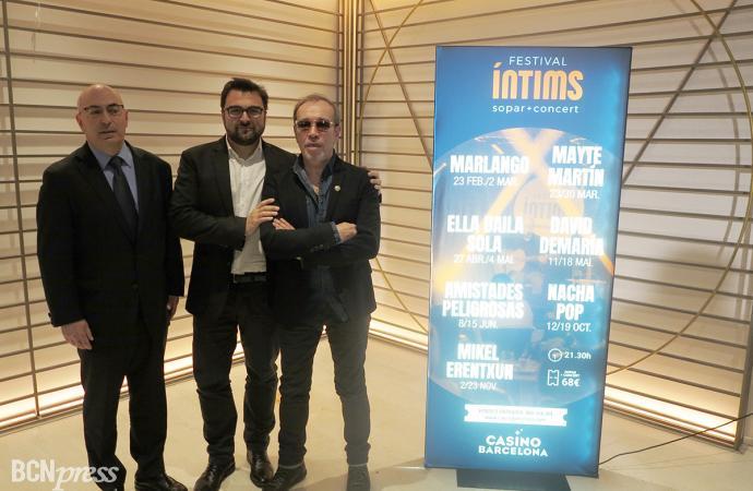 Presentación del Festival Íntims de Casino Barcelona