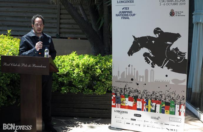 Presentación del Cartel Oficial del CSIO Barcelona 2019
