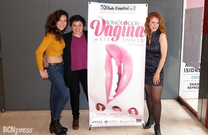 'Los monólogos de la vagina' se representa en la Sala 2 del Club Capitol