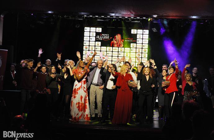 VI Premios Alegría de Vivir 2018