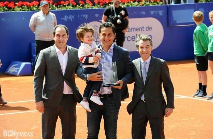 Homenaje a Nico Almagro por su retirada profesional