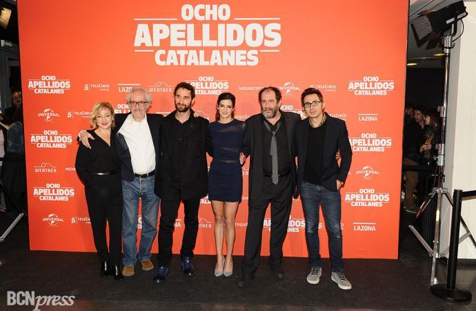 "Première en Catalunya de ""Ocho apellidos catalanes"""