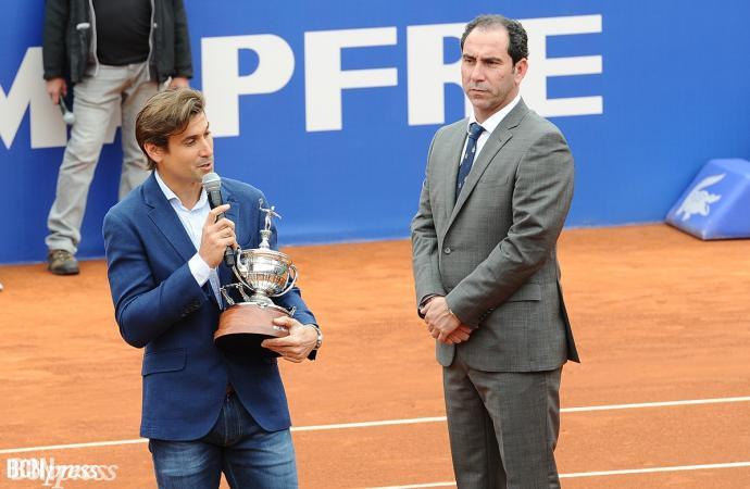 Albert Costa cede su cargo de director del Barcelona Open Banc Sabadell a David Ferrer