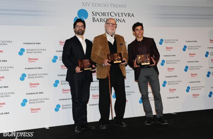 La XIV edición de los Premios Sport Cultura Barcelona 2018 fueron premiados Marc Márquez, Rosalía y Jordi Alumà
