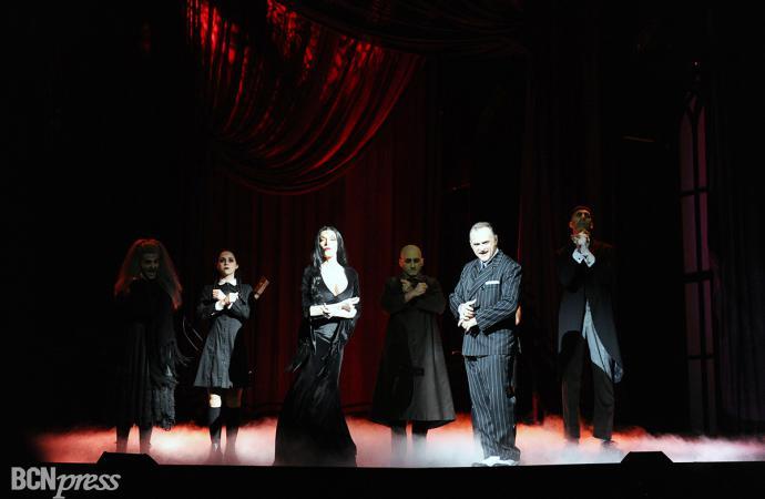 'La Familia Addams' se instala en el Teatre Coliseum de Barcelona
