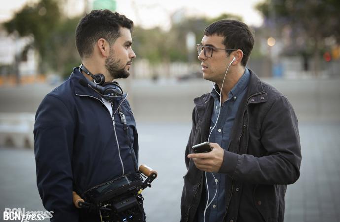 Mario Casas rodó su última película 'No matarás' en Barcelona