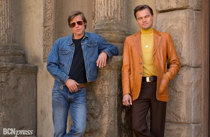 """""""Érase una vez en… Hollywood"""", con Leonardo DiCaprio y Brad Pitt"""