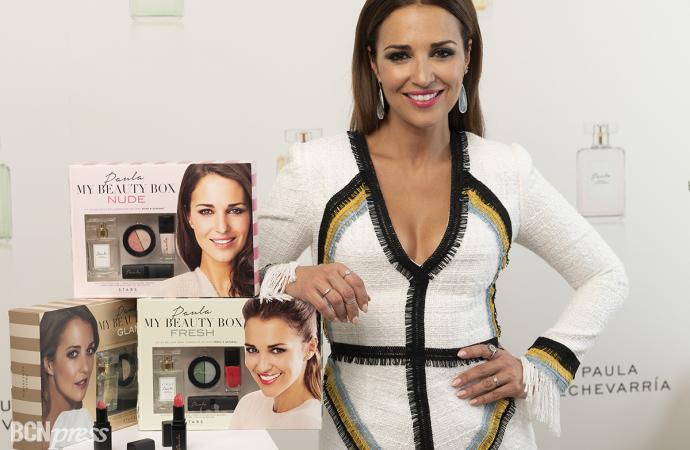 Paula Echevarría presenta 'My Beauty Box', su nueva propuesta de maquillaje y fragancias