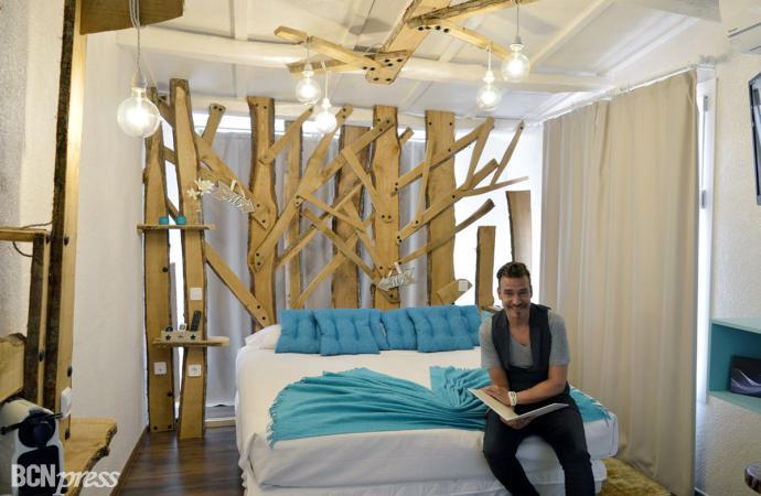 Las habitaciones 'Masia Design' de Jordi Dalmau en Sallés Hotel Mas Tapiolas