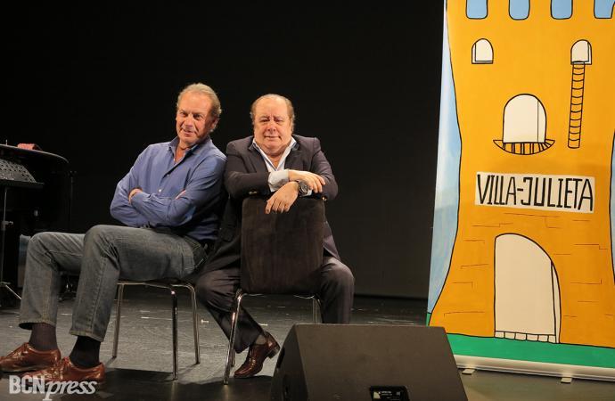 Mellizos presentan 'Por Humor al Arte', en el Borràs