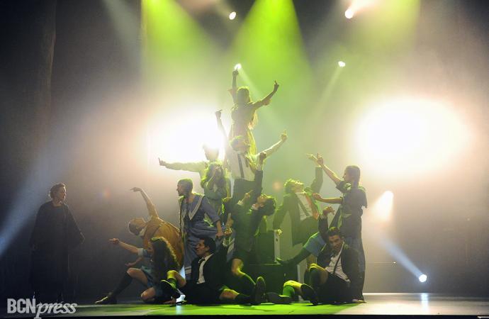 'El despertar de la primavera' en el Teatre Victòria de Barcelona