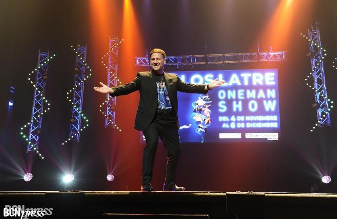 Carlos Latre regresa a los escenarios con 'One Man Show'