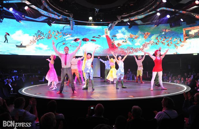 El Cirque du Soleil en los MSC Meraviglia Cruceros