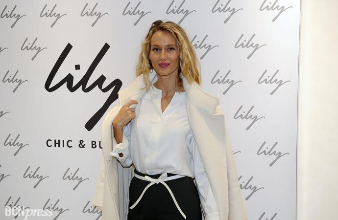 Vanesa Lorenzo, embajadora de la marca asiática Lily