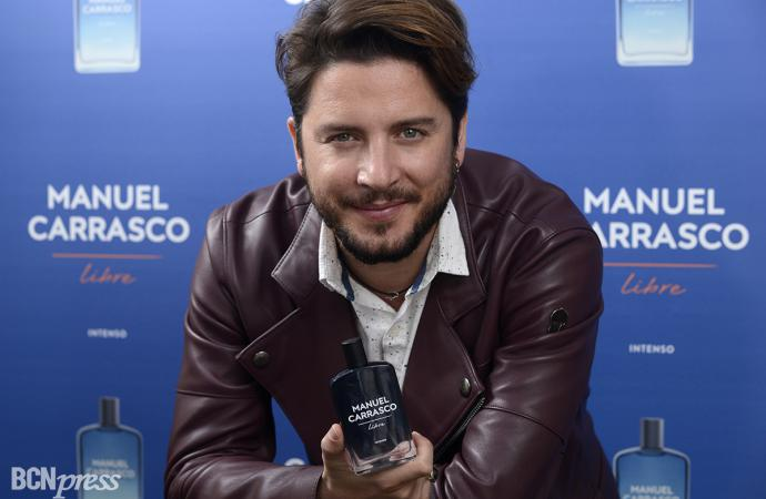Manuel Carrasco lanza nueva fragancia, 'Libre intenso'