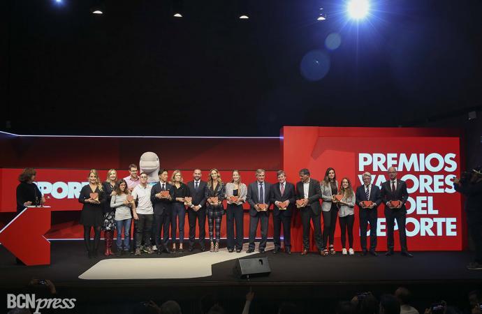 1ª Gala de los 'Premios Los Valores del Deporte'
