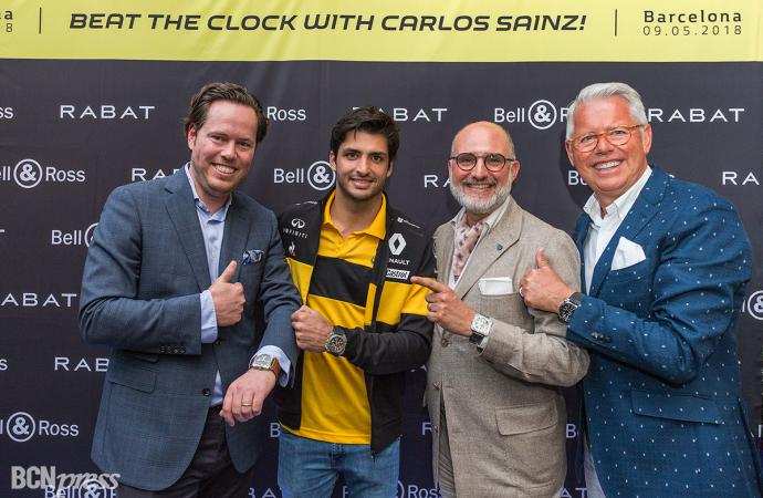 Carlos Sainz Jr, embajador de Bell & Ross