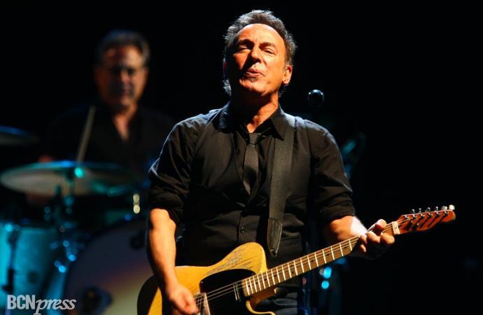 Bruce Springsteen ofreció un apoteósico concierto en Barcelona